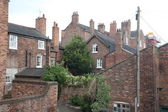 Victorian style buildings in Chester, UK — Stock Photo