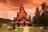 Heddal 壁教会挪威 — 图库照片