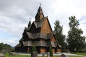 Heddal Stave Church in Norway — Stock Photo