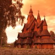 Heddal Stave Church in Norway — Stockfoto