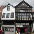 Old building in Chester, England, UK - Stock Photo