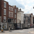 Street of Chester, UK - Stock Photo