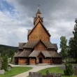 Stock Photo: Heddal stave church, Norway
