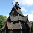 Stock Photo: Gol stave church in Folks museum Oslo