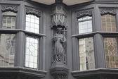 Fachada casa de estilo tudor en chester — Foto de Stock