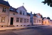 Norveç'te sokak — Stok fotoğraf