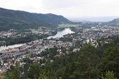 Drammen city in Norway — Stock Photo