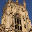 York Minster (England's largest medieval church) — Stock Photo