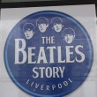 Stock Photo: Beatles Story, Liverpool, England. Exhibition dedicated to leading 1960s musicigroup Beatles