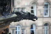 Detail of building in Edinburgh, Scotland — Foto Stock