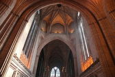 Interior of Liverpool Anglican Cathedral — Stock Photo