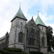 Stavanger Cathedral bulit from 1125 in Anglo-Roman style — Stock Photo #20830405