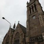 Church tower in Edinburgh, Scotland — Stock Photo