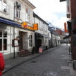 Stock Photo: Street in the old part of Stavanger, Norway