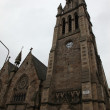 Stock Photo: Church tower in Edinburgh, Scotland