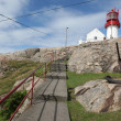 Lindesnes lighthouse in Norway - Foto Stock