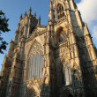 York Minster (England's largest medieval church) — Stock fotografie