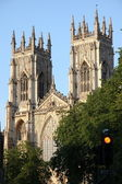 York Minster (England's largest medieval church) — Foto Stock