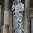 Beautiful stone statue. Temple of the four winds. Castle Howard, Yorkshire, England  — Stock Photo