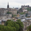 Panorama of Edinburgh, Scotland — Stock Photo