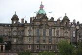 Headquarters of the Bank of Scotland, Edinburgh, Scotland, UK — Stock Photo