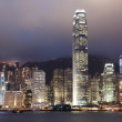 Hongkong at night — Stock Photo