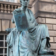 Stock Photo: Monument to David Hume, Edinburgh