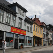 Architecture of Bergen, Norway - Stock Photo