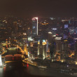 Harming night in shanghai — Stock Photo