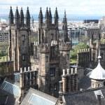 Architecture of St. Giles Cathedral Edinburgh Scotland — Stock Photo