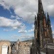 Architecture of St. Giles Cathedral Edinburgh Scotland - Stock Photo