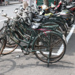 Bicycles in Shangh - Stock Photo