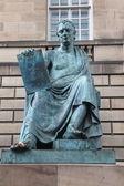 Monument to David Hume, Edinburgh — Stock Photo