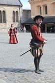 в стерлингский замок, шотландия, великобритания — Стоковое фото
