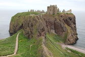 Dunnottar Castle, Scotland — Stock Photo
