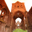 Stock Photo: Sweetheart Abbey, ruined Cistercimonastery