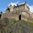 Edinburgh Castle , Scotland, UK - Stock Photo