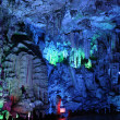 Stock Photo: reed flute caves in guilin