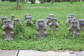 Macaco asiático — Foto Stock