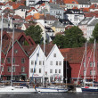 Cityscape of Bergen, Norway — Stock Photo #23670557