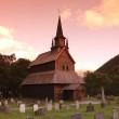 Heddal stave church, Norway — Stock Photo #23670905