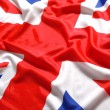 UK, British flag, Union Jack — Stock Photo #24151895