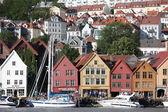 BERGEN, NORWAY - CIRCA JULY 2012: Views of city circa July, 2012 — Stock Photo