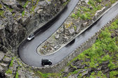 Road of the Trolls in Norway Mt — Stock Photo