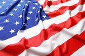 Zbliżenie amerykańską flagę — Zdjęcie stockowe