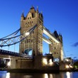 Evening Tower Bridge, London, UK — Stock Photo #24474721