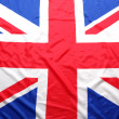 UK, British flag, Union Jack - Stock Photo
