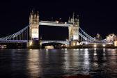 Evening Tower Bridge, London, UK — Stock Photo
