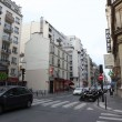 View of street in Paris — Foto Stock