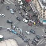 View over street of Paris — Stock Photo